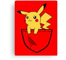 Pocket Pika Canvas Print