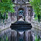 Medici Fountain in Luxembourg Garden by randyharris