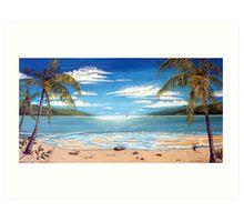 Long Island Paradise, Australia  Art Print