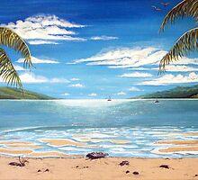Long Island Paradise, Australia  by © Linda Callaghan