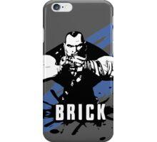 Brick (Grey) iPhone Case/Skin