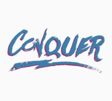 Conquer: 80's Hand-Rendered Type by vulpiniaus