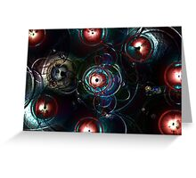 Lens Flare Three Greeting Card