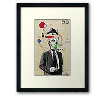agent 86 Framed Print