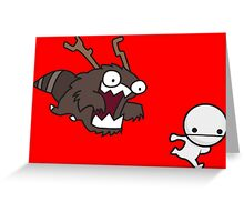 Run! Greeting Card