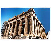 Parthenon-Acropolis of Athens Poster