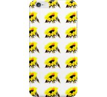 Sunflower Surface Pattern Design by Jenny Meehan  iPhone Case/Skin