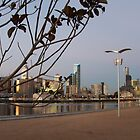 Docklands to City ~ Twilight by adamhills