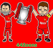 Gerrard and JC - 5 Times by 442oons
