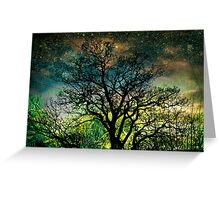 The Psychedelic Tree Greeting Card