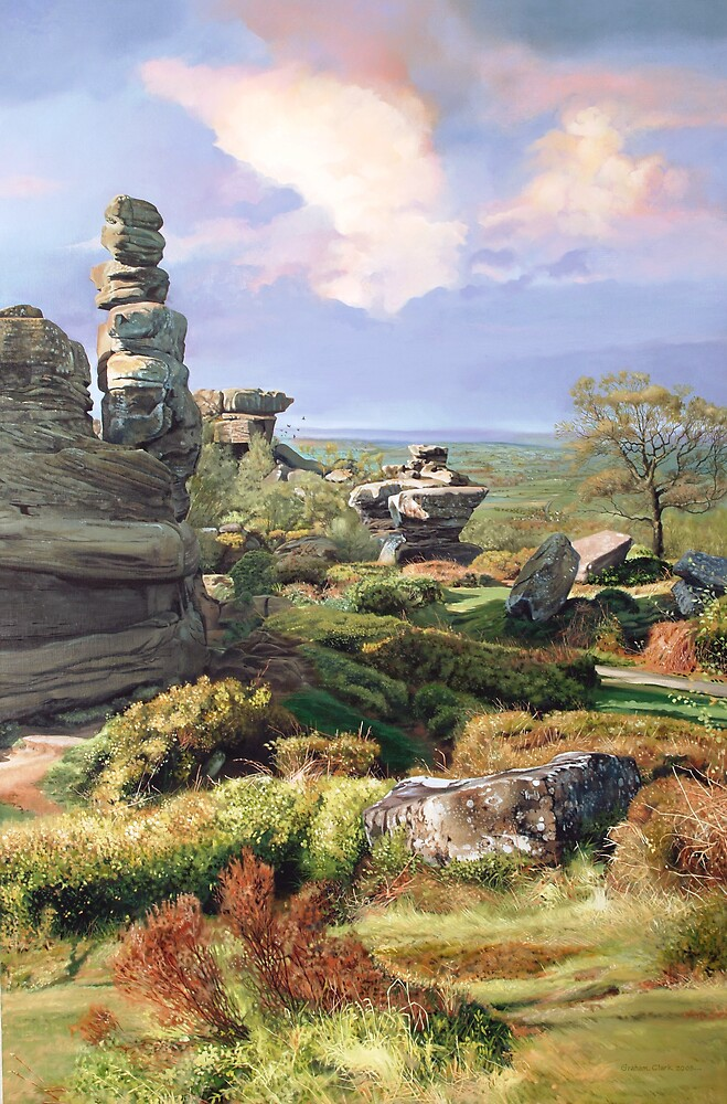 Brimham Rocks by Graham Clark
