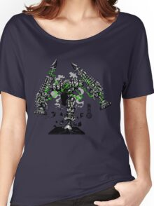 The Game of Kings, Wave Six: The Black Queen-Bishop's Pawn Women's Relaxed Fit T-Shirt