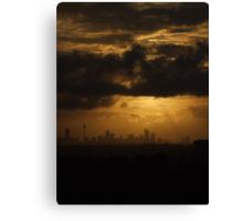 Sydney Sunrise Canvas Print