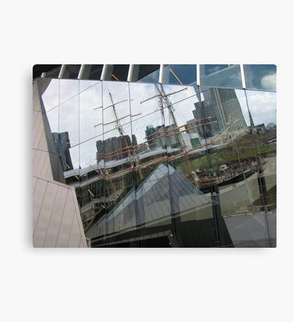 Reflections of History Canvas Print