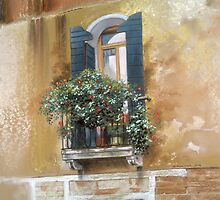 Venetian Balcony by Graham Clark