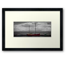 Primary Boats Framed Print