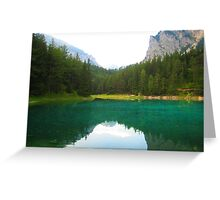 Gruener See  Greeting Card