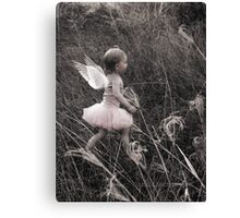 """Angel Ready For Flight"" - A Tribute To Breast Cancer Awareness Canvas Print"
