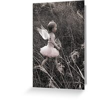 """Angel Ready For Flight"" - A Tribute To Breast Cancer Awareness Greeting Card"