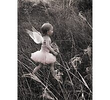 """""""Angel Ready For Flight"""" - A Tribute To Breast Cancer Awareness Photographic Print"""
