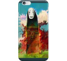 spirited away. no face iPhone Case/Skin