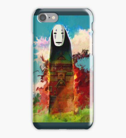 spirited away. no face iPhone Case/Skin