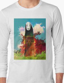 spirited away. no face Long Sleeve T-Shirt