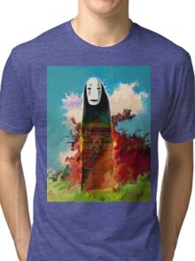 spirited away. no face Tri-blend T-Shirt