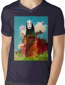 spirited away. no face Mens V-Neck T-Shirt