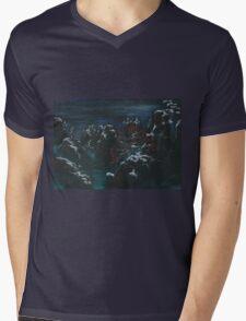 Cherry valley Mens V-Neck T-Shirt