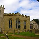 St Peter's Church-Brafferton Helperby,North Yorks by Trevor Kersley