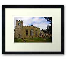 St Peter's Church-Brafferton Helperby,North Yorks Framed Print