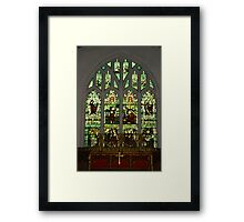 Window #1 St Peter's Church  Framed Print