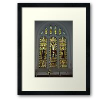 Window #2 St Peter's Church Framed Print