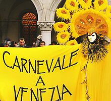 CARNIVAL IN VENICE-ITALY by Aurora Pintore