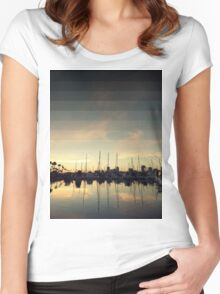 Fading Skies Women's Fitted Scoop T-Shirt