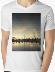 Fading Skies Mens V-Neck T-Shirt