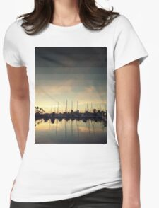 Fading Skies Womens Fitted T-Shirt