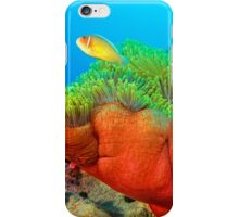 Anemone with Pink Anemone Fish iPhone Case/Skin