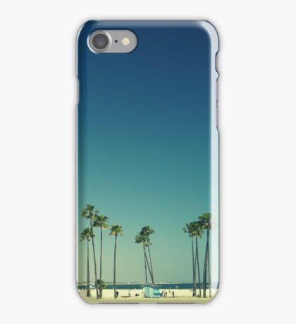 Summer Beach Blue iPhone Case/Skin