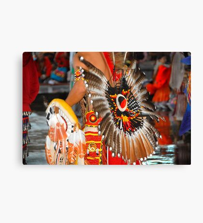 47th Annual National Championship   ( Pow Wow Series) Canvas Print
