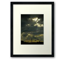 Some Water In My Clouds Framed Print