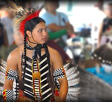 Waiting His Turn  (Pow Wow Series) by Dyle Warren