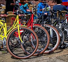 Bikes For Hire by Susie Peek