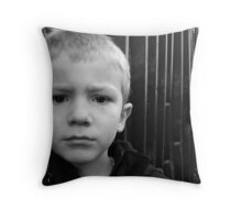 i've been told its a wonderful world.....but i can't see it right now..... Throw Pillow