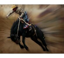 Cowboy UP  Photographic Print