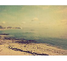 Distant lighthouse Photographic Print