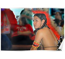 Dancer (Pow Wow Series) Poster