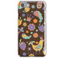 - Seamless doodle birds pattern - iPhone Case/Skin