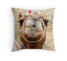 My new best friend Throw Pillow